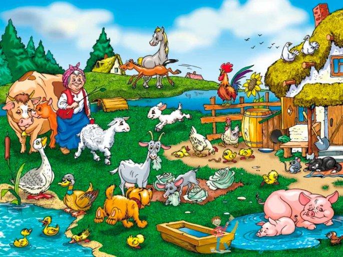 Для, веселые сюжетные картинки для детей